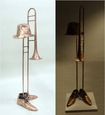 Old Jazz table lamp